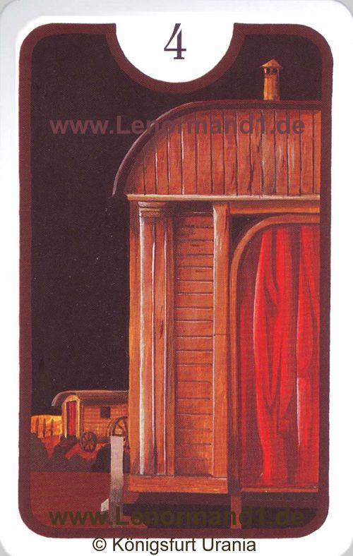 Das Haus von dem Zigeuner Lenormand
