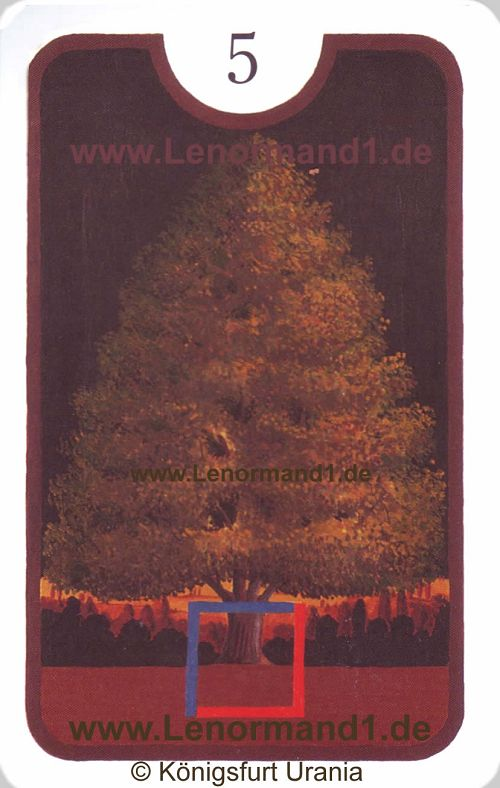 Der Baum von dem Zigeuner Lenormand