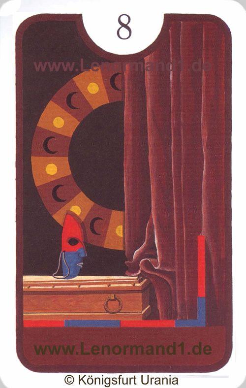 Der Sarg Zigeuner Lenormand Tageskarte heute