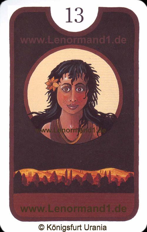 Das Kind Zigeuner Lenormand Tageskarte heute