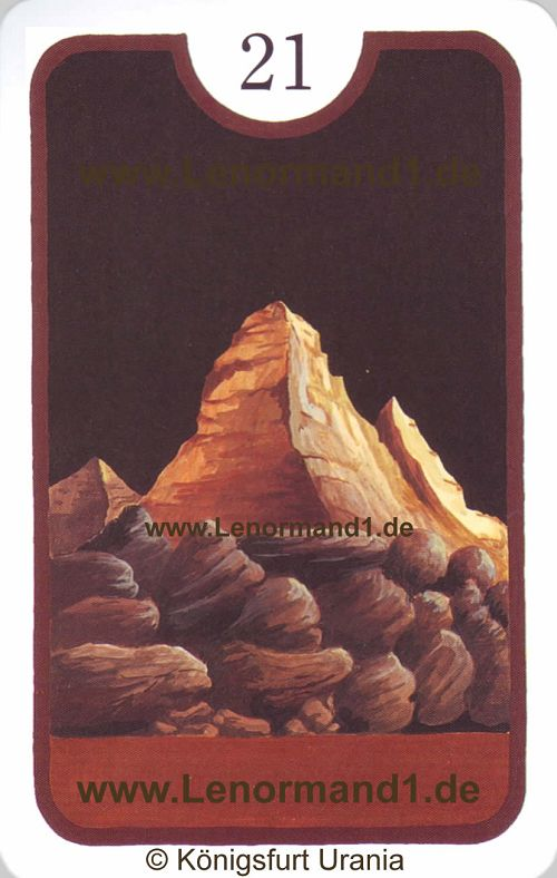 Der Berg von dem Zigeuner Lenormand