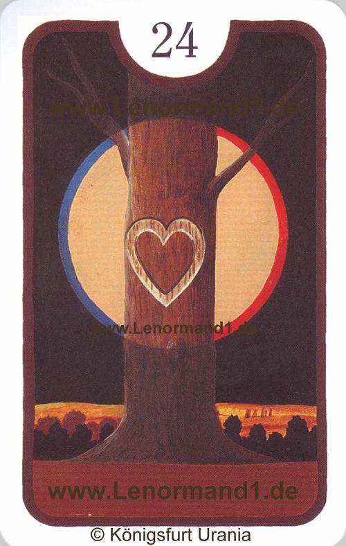 Das Herz ist Ihr Tageshoroskop