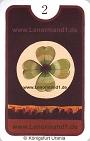 Der Klee Zigeuner Lenormandkarten