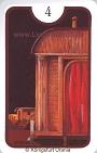Haus von den Zigeuner Lenormandkarten