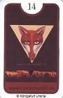 Fuchs von den Zigeuner Lenormandkarten