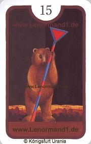 Bär, Zigeuner Lenormand