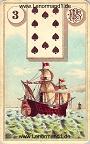 Das Schiff antike Lenormandkarten von Ferdinand Piatnik