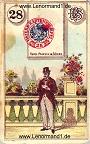 Der Herr antike Lenormandkarten von Ferdinand Piatnik