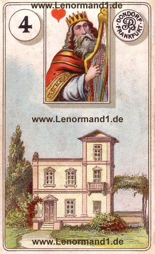 Das Haus von dem antiken Dondorf Lenormand