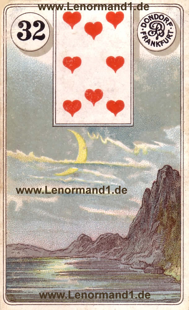 lenormand bedeutung der mond online deutung von dem. Black Bedroom Furniture Sets. Home Design Ideas