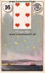 Sterne von den antiken Dondorf Lenormandkarten