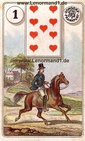 Reiter, antikes Dondorf Lenormand