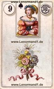 Blumen, antikes Dondorf Lenormand