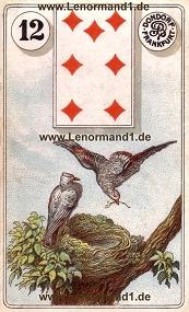 Vögel, antikes Dondorf Lenormand