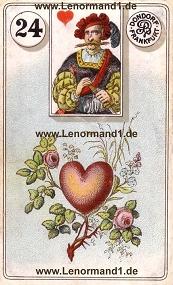 Herz, antikes Dondorf Lenormand