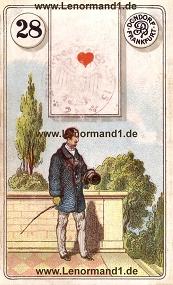 Herr, antikes Dondorf Lenormand