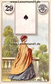 Dame, antikes Dondorf Lenormand