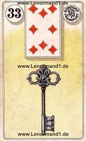 Schlüssel, antikes Dondorf Lenormand