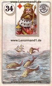 Fische, antikes Dondorf Lenormand