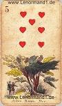 Baum von den antiken Lenormandkarten