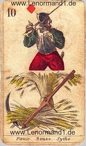 Sense, antike Lenormandkarten