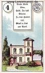 Haus von den antiken Dondorf Lenormandkarten mit Versen
