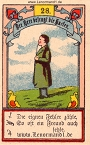 Der Herr antike Lenormandkarten von Gustav Kühn
