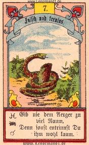 Schlange, Gustav Kühn Lenormand
