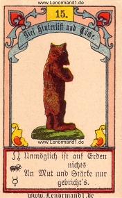 Bär, Gustav Kühn Lenormand