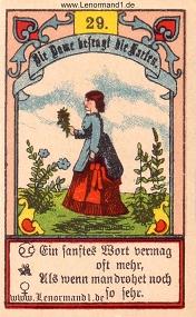 Dame, Gustav Kühn Lenormand