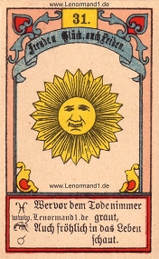 Sonne, Gustav Kühn Lenormand