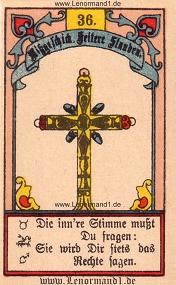 Kreuz, Gustav Kühn Lenormand