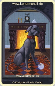 Hund, Mystisches Lenormand