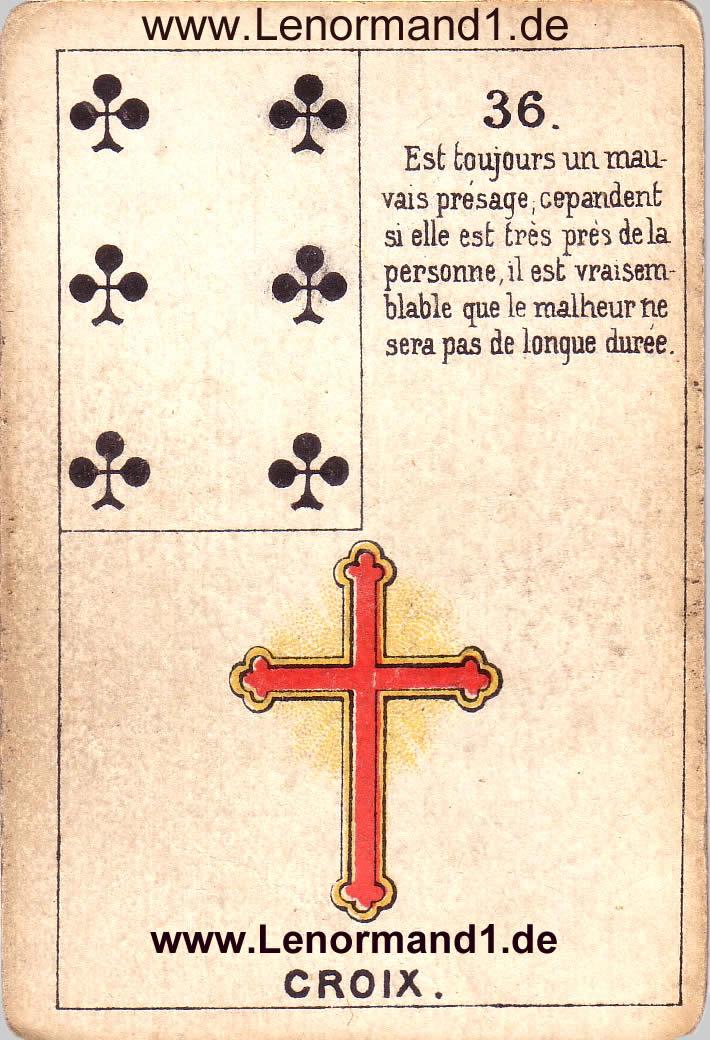 Brief Und Kreuz Lenormand : Lenormand deutung das kreuz die bedeutung von dem
