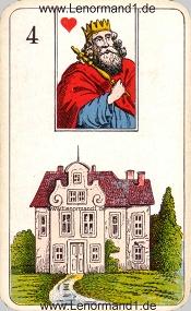 Haus, antikes Stralsunder Lenormand