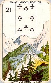 Berg, antikes Stralsunder Lenormand