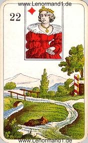 Wege, antikes Stralsunder Lenormand
