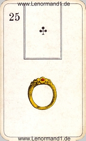 Ring, antikes Stralsunder Lenormand