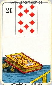 Buch, antikes Stralsunder Lenormand