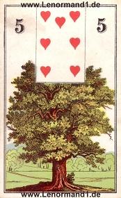 Baum, antikes Wüst Lenormand