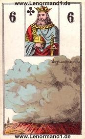 , antikes Wüst Lenormand